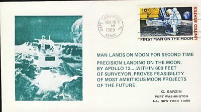 1969 Cape Canaveral First Man on the Moon United States stamp cover refd102