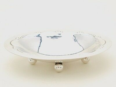 Georg Jensen Sterling Silver small Footed Nut Dish