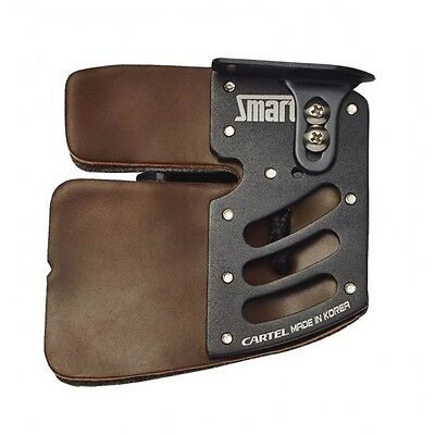 Cartel Smart Archery Tab Cordovan -  Leather - Right/Left Hand - Size: S M L