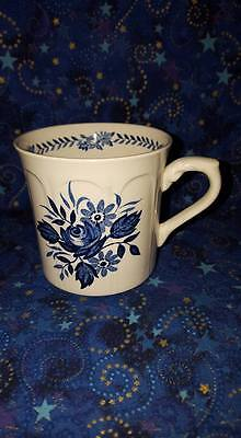"J & G Meakin England ""Dresden-Blue"" Porcelain 8oz Tea/Coffee Cup"