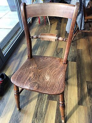 Genuine C1880 Fruitwood Oxford Chairs set of 6