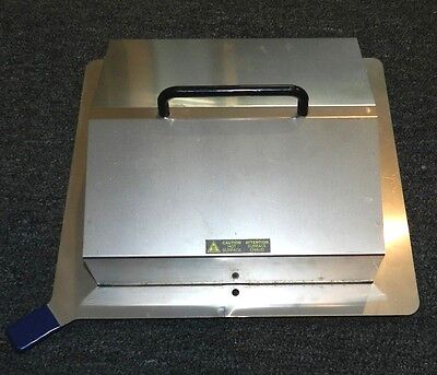 """Stainless Steel Waterbath Cover 10.5"""" x 10.5"""" in."""