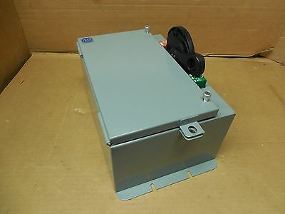 Allen Bradley 1494F-Fnp100 100A Amp Non Fusible Safety Switch Disconnect 600V