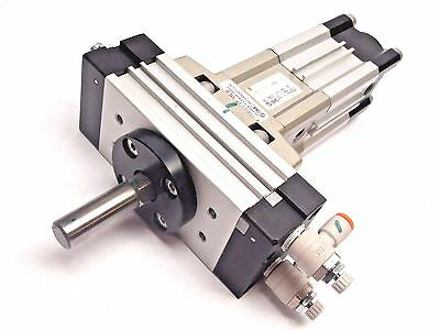 SMC MRQES32-10NA-XN Rotary + Linear Pneumatic cylinder