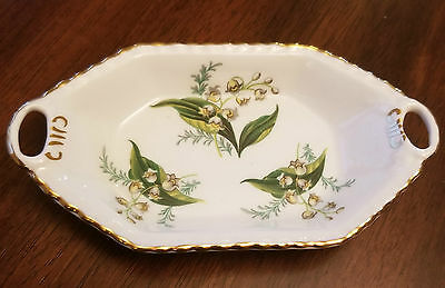 Hammersley Bone China Trinket Dish Lily of the Valley
