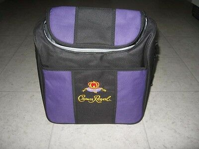 New Crown Royal Insulated Soft Sided Cooler Bag with Strap