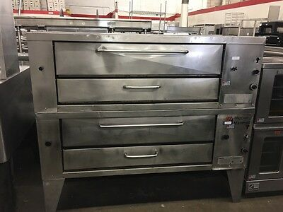 Middleby Marshall XL100 - Double-Stack Gas Deck Oven - Refurbished