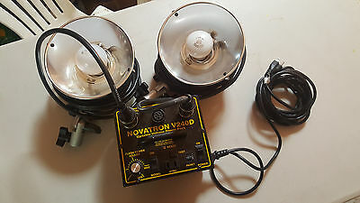 Novatron V240D Variable Voltage Power Supply Pack Photography Light Lighting