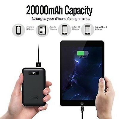 iMuto Portable Charger X4 20000mAh, with Mfi Lightning Cable and Nintendo ..