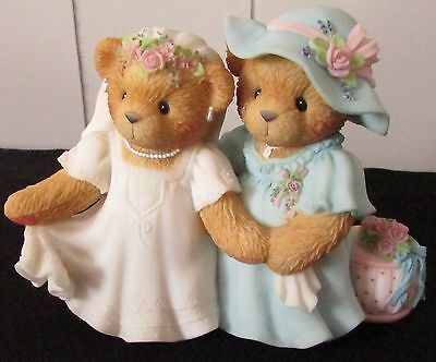 Cherished Teddies DESTINY AND KAY Bride & Mother of the Bride #789658