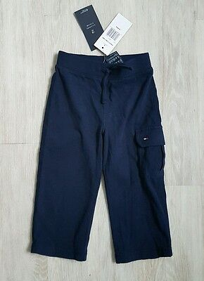 Tommy Hilfiger Baby boy Navy Blue joggers trousers Pants NWT 18 months cotton