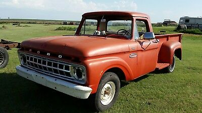 1965 Ford F-100 custom 1965 FORD F100 STEPSIDE and 1994 lincoln town car