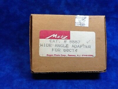 Metz 5557 Wide Angle Adapter For 60 CT 4