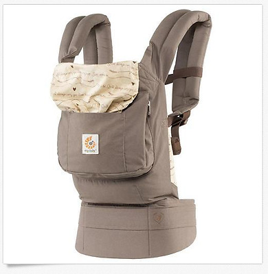 ERGObaby Original 3 Position Baby Carrier, Love Notes 12-45 lbs Baby Wearing
