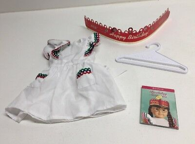 American Girl Doll Molly's Birthday Surprises Outfit EUC