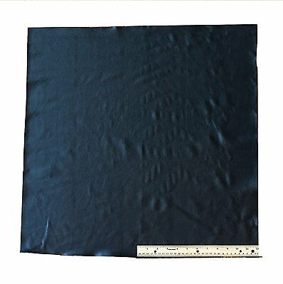 A-1 Upholstery Leather Piece Cowhide Black Lt Wt 4 Sf