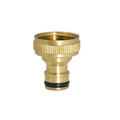 Water Hose Gardening Threaded Pipe Fitting Brass Adaptor Tap Quick Connector