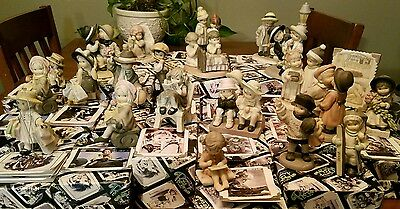 Enesco Pretty as a Picture Porcelain Figurine Lot of 23 Kim Anderson