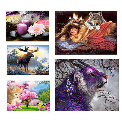 5D DIY Diamond Painting Embroidery Cross Crafts Stitch Kits Home Room Decoration