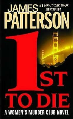 NEW 1st to Die By James Patterson Paperback Free Shipping
