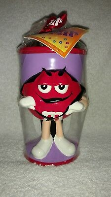 M&M's Ceramic Halloween Red Count Dracula Goblet