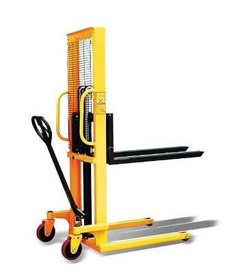 """i-Liftequip PZ Series Hand Manual Stacker for Single Faced Skid Pallets, 63"""" Li"""