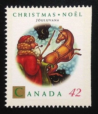 Canada #1452a Right MNH, Christmas Personages Booklet Stamp 1992