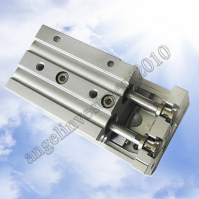 Table Slide Guided Air Cylinder MXS12-10 20 30 40 50 75 100 SMC type