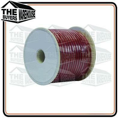 Wire 6Mm Trade Single Core Automotive Wiring Cable 20M Red Spool
