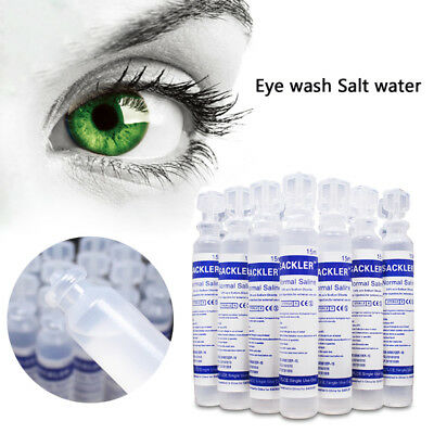 15ml Baby Sterile Saline Solution NaCl 0,9% Nebulizer Nose Ear Eye Wash New