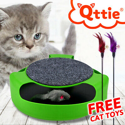 Cat Toy Electronic Kitten The Mouse Chase Interactive OZ
