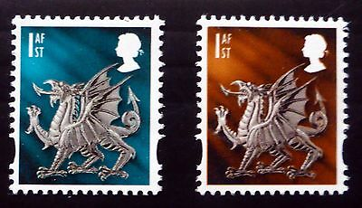 GB WALES 2005 - 1st Class Colour Trial with Normal U/M NB2568
