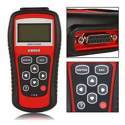 KONNWEI KW808 Car Fault Live Data Code Reader Scanner Diagnostic Tool EOBD OBD2
