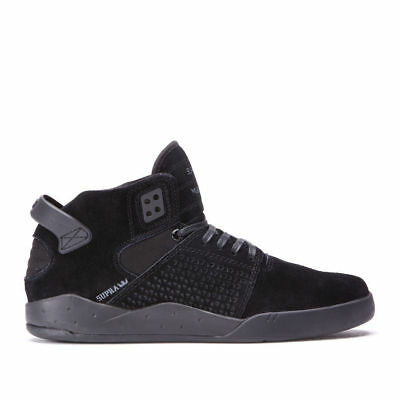 Supra Mens Skytop III Lace Up Active Gym Sport Lo Top Black Gum Trainer