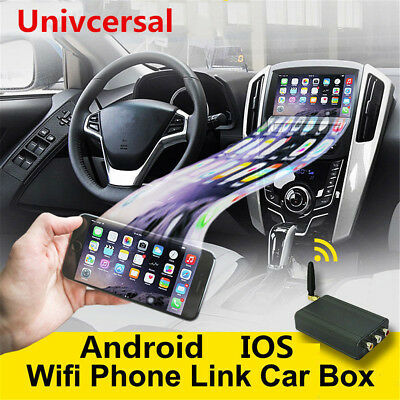 New Car Miracast Airplay Android IOS WiFi Mirror Link Adapter Smartphone Screen