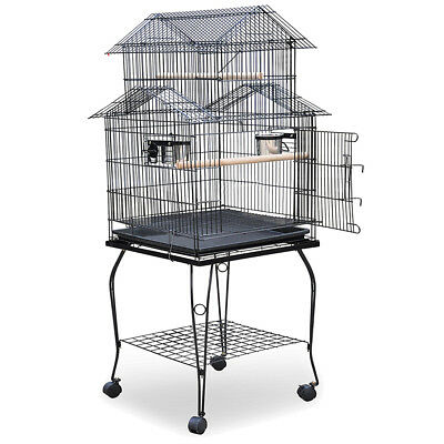 Large-scale iron wire Parrort Large Bird Cage K G9V6