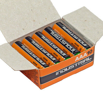 Duracell Industrial Procell MN2400 AAA LR03 Battery Box of 10 Alkaline Batteries