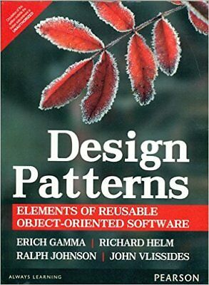 Design Patterns: Elements Of Reusable Object Oriented Software