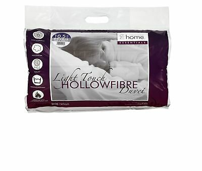Hollowfibre Duvet Covers Single Double King Super 4.5tog 10.5tog 13tog 15tog