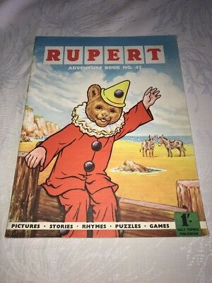 Rupert Adventure Book No 42 Superb Condition