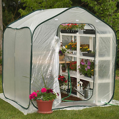 Flowerhouse Springhouse 6 Ft. W x 6 Ft. D Greenhouse XJ1007