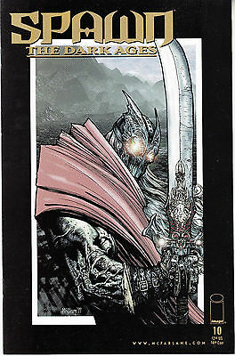SPAWN THE DARK AGES 10...NM-...1999...Brian Holguin,Liam Sharp...HTF Bargain!