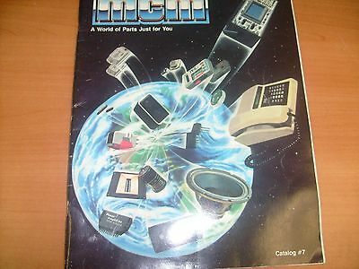 1983 MCM Electronics Catalog ~ Capacitors Resistor - Soldering tools TV Parts f9