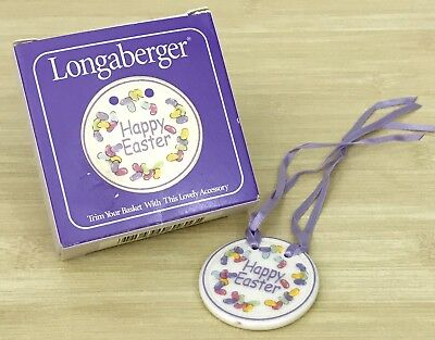 Longaberger 2000 Easter Basket Jelly Bean Tie-on