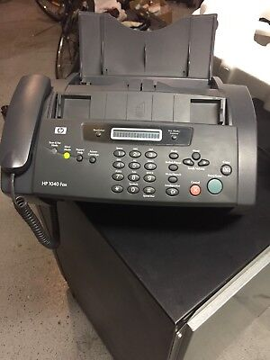 HP 1140 Fax Machine Plain Paper Very Lightly Used