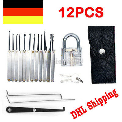 neu lockpicking set 1lock 2tasten set 24 teiliges pick set dietriche kit eur 10 52. Black Bedroom Furniture Sets. Home Design Ideas