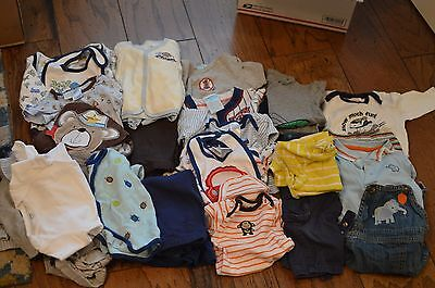 32 Piece Baby Boy Clothes Lot 6-9 Months - #2