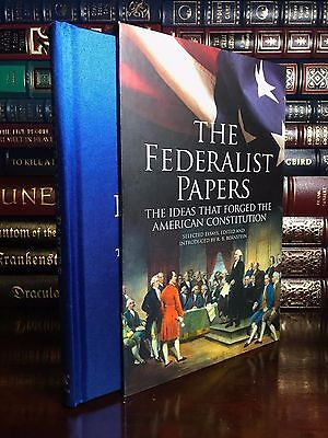The Federalist Papers New Deluxe Illustrated Silk Bound Slipcase Ed Constitution