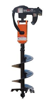 "NC300 2"" Hex Earth Auger w/Planetary Drive for Skid Steer/Bobcat/JD/Kubota/Gehl"