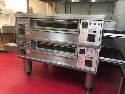 Middleby Marshall Direct Gas Fired conveyor Ovens Double Stack  PS570